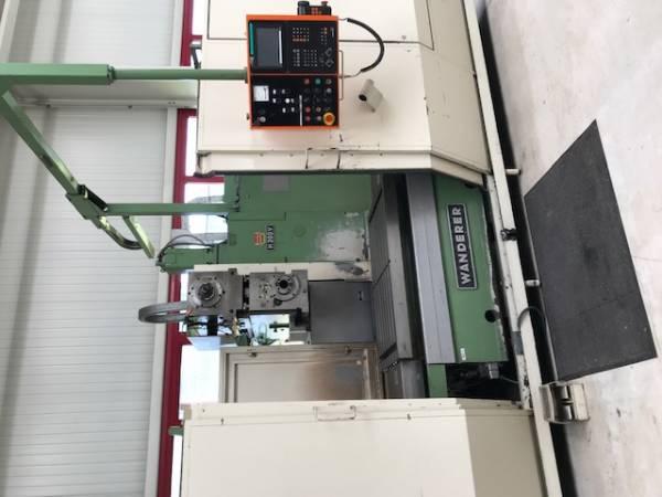 gebrauchte Fräsmaschinen Bettfräsmaschine - Universal WANDERER H200