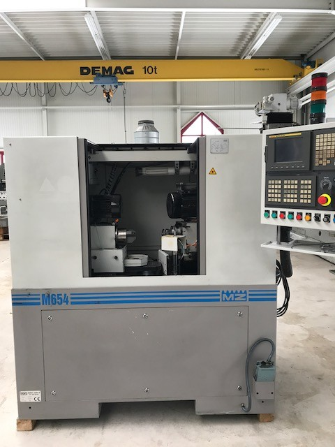 used  Super Finishing Machine Monnier + Zahner  M 654