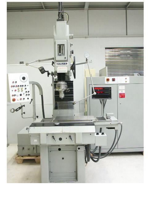 Máquinas rectificadoras usadas Máquina rectificadora de plantilla HAUSER 3SM DR
