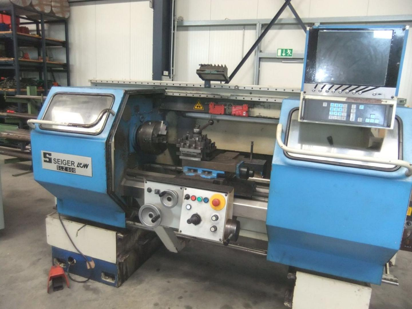 used  Lathe -  cycle-controlled Seiger SLZ500