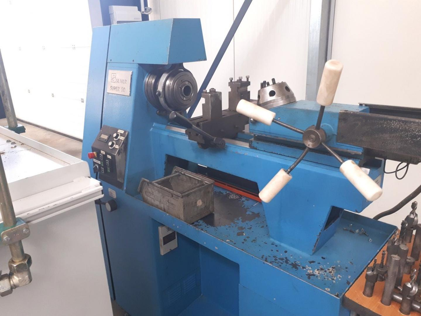 used  Mechanician s Lathe Seiger Super50