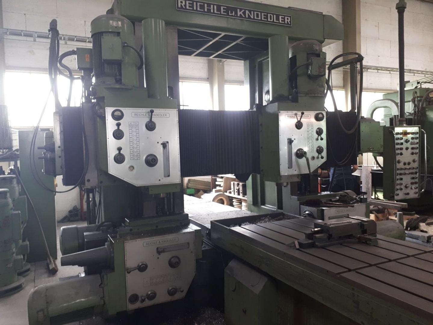 used  Planer-Type Milling M/C - Double Column REICHLE & KNOEDLER