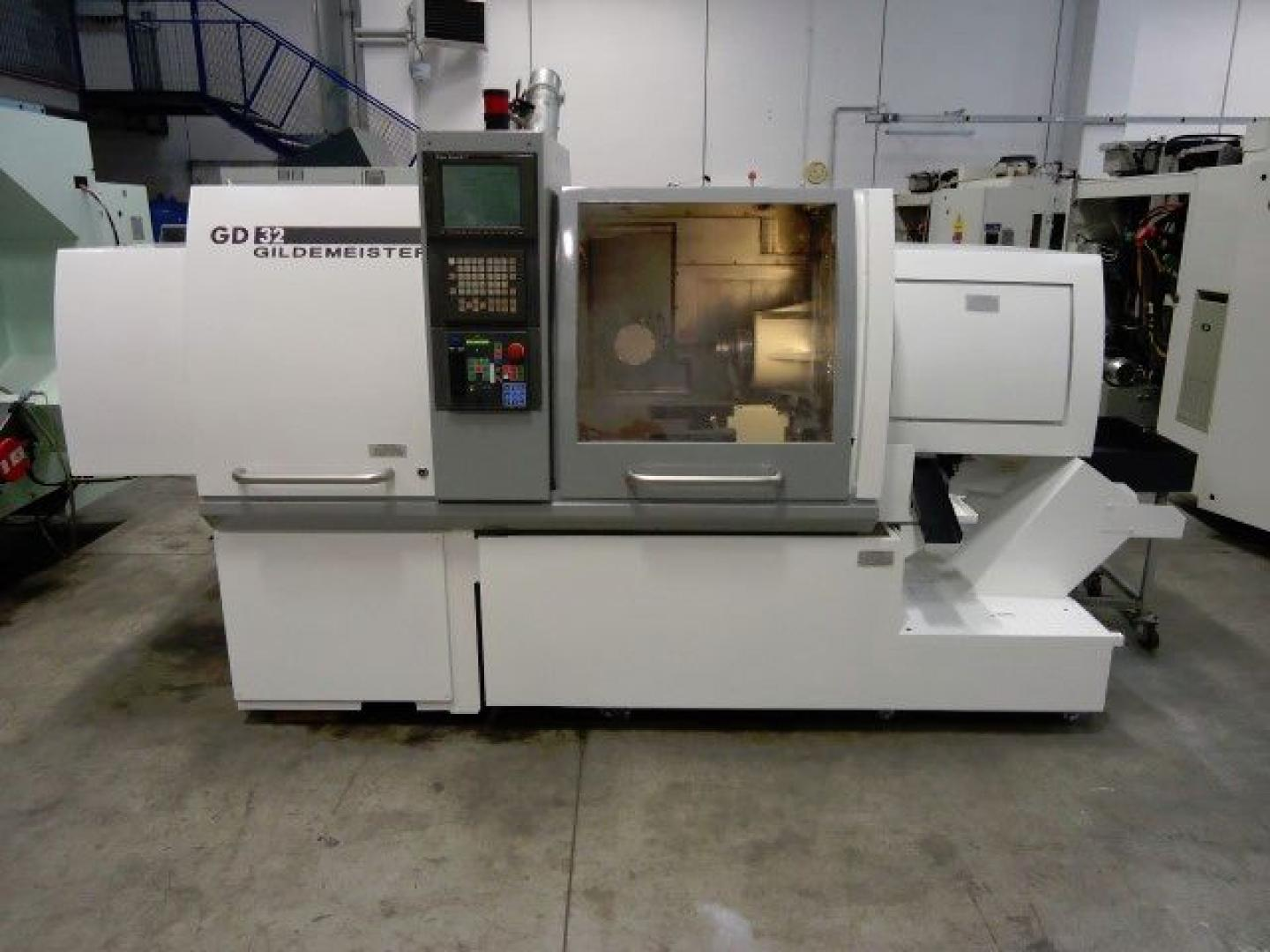 used  Turning Automatic Lathe - swiss lathe GILDEMEISTER GD32-6A
