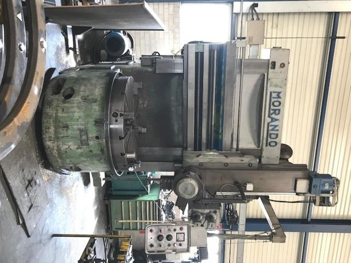 used  Vertical Turret Lathe - Single Column MORANDO KL12