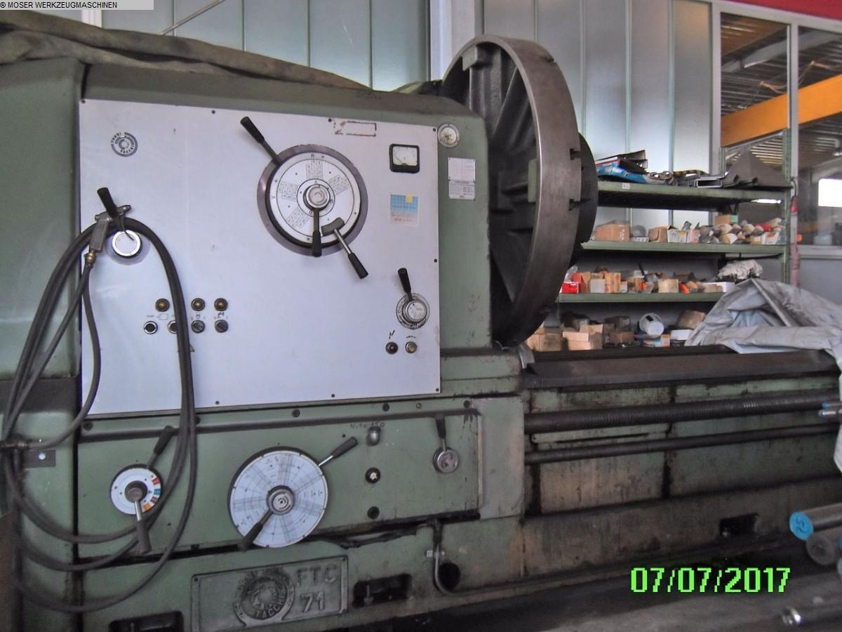 gebrauchte Maschine Schwerdrehbank TACCHI FTC 71 - 8000