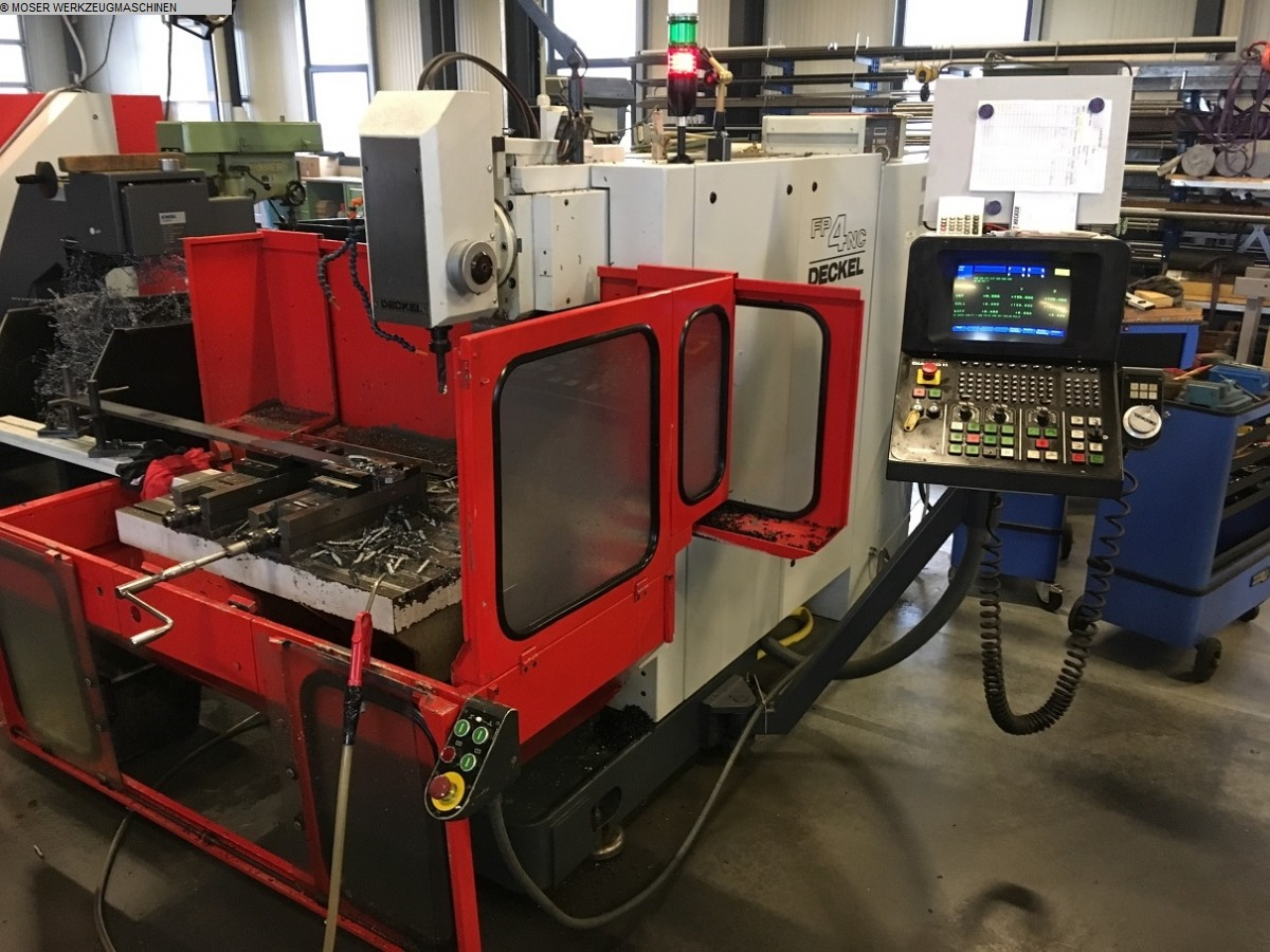 used Universal Milling Machine DECKEL FP 4 NC
