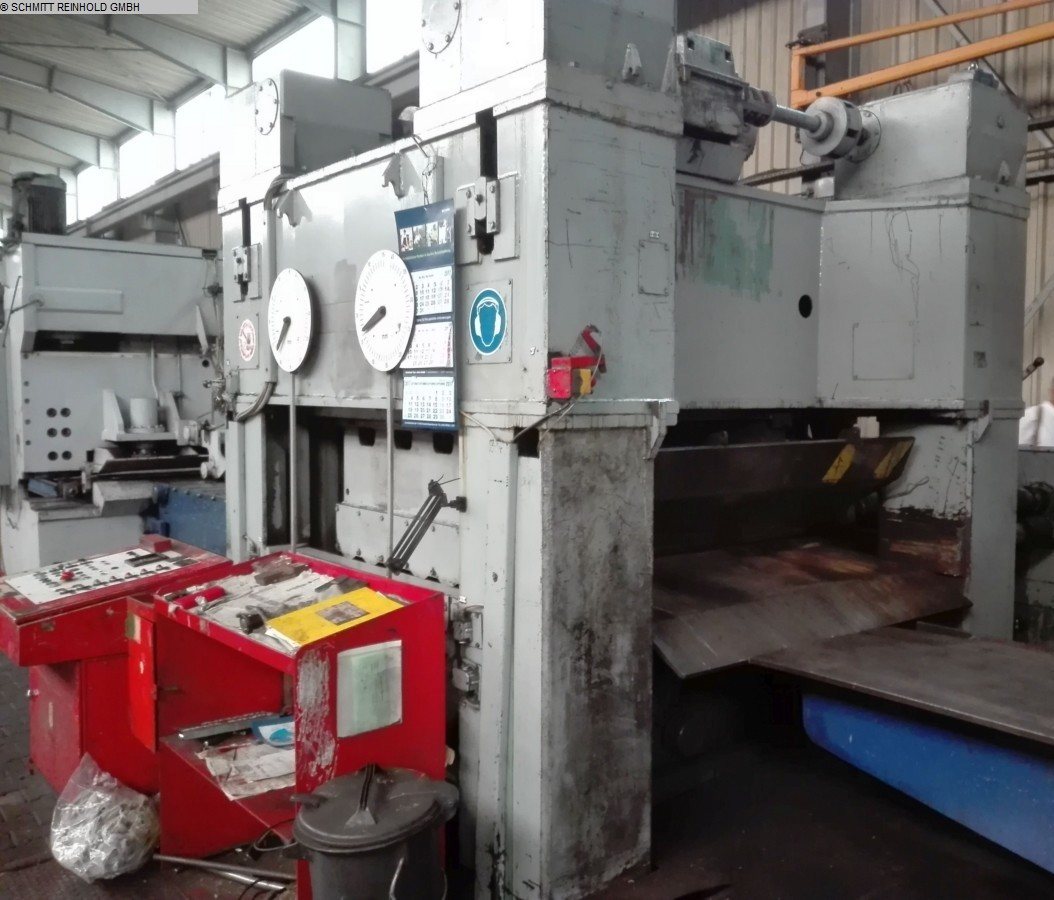 used Roller leveller WMW-BLEMA UBR 1600 x 20