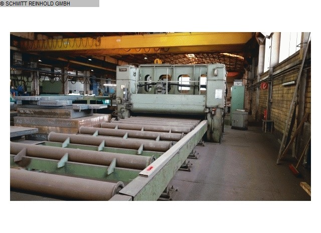 used Sheet metal working / shaeres / bending Roller leveller WMW - WILDAU UBR 32x2500-7/16