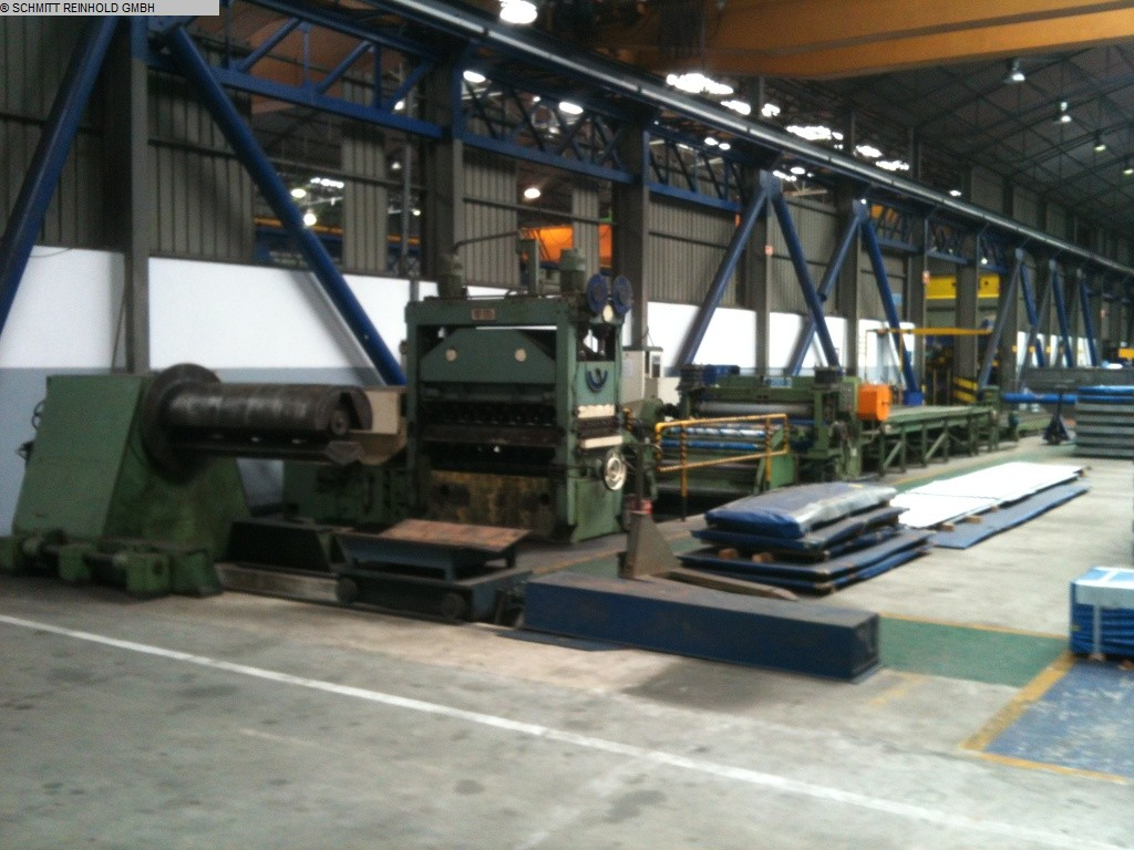 used  Cut-to-length-lines FIMI/ATECNIN
