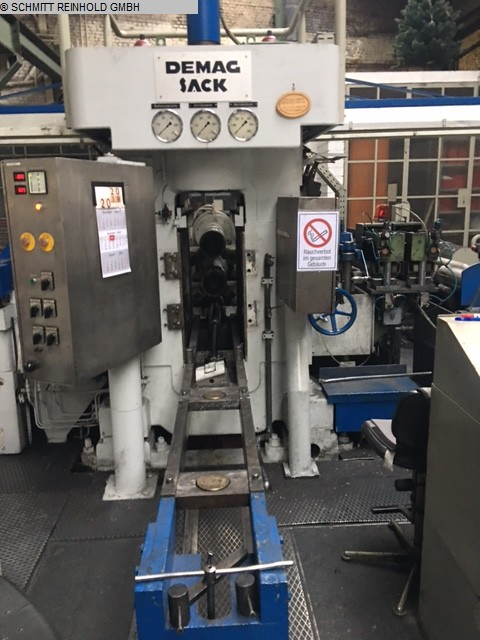 used Roll Mill – Duo – Skin Pass MANNESMANN DEMAG SACK (MDS)