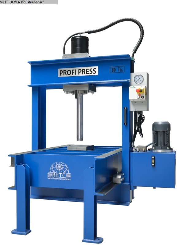 used Straightening Press - Single Column PROFI PRESS TL-80