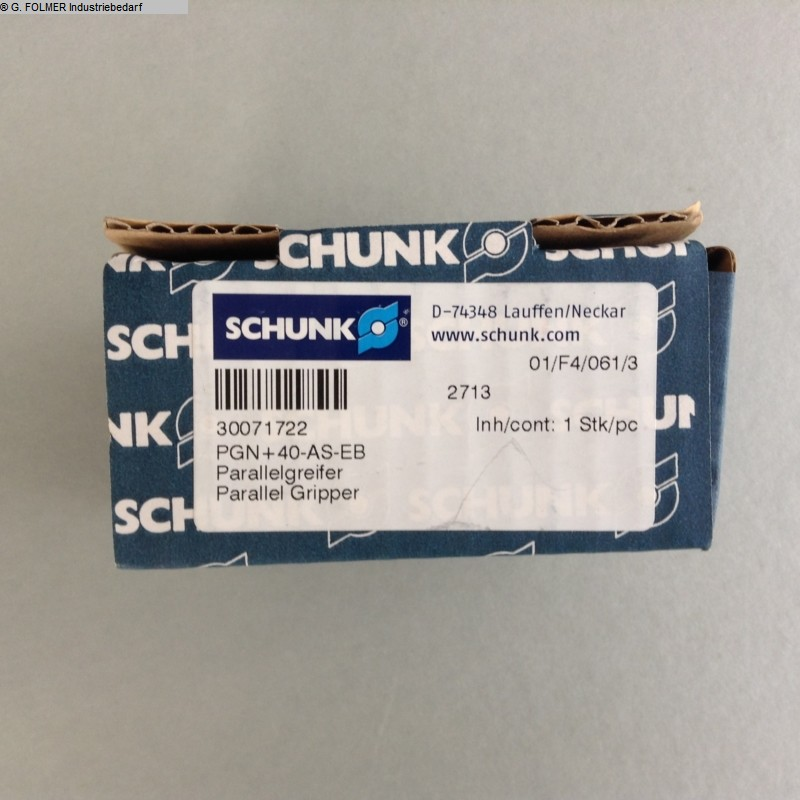 used machine Pneumatic articles Schunk PGN+40-AS-EB