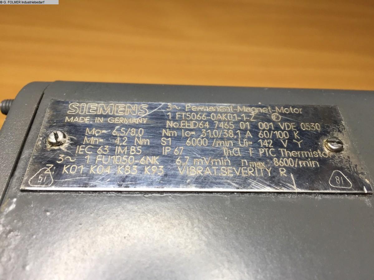 gebrauchte Maschine Elektronik / SPS-Steuerungen SIEMENS 1FT5066-0AK01-1-Z
