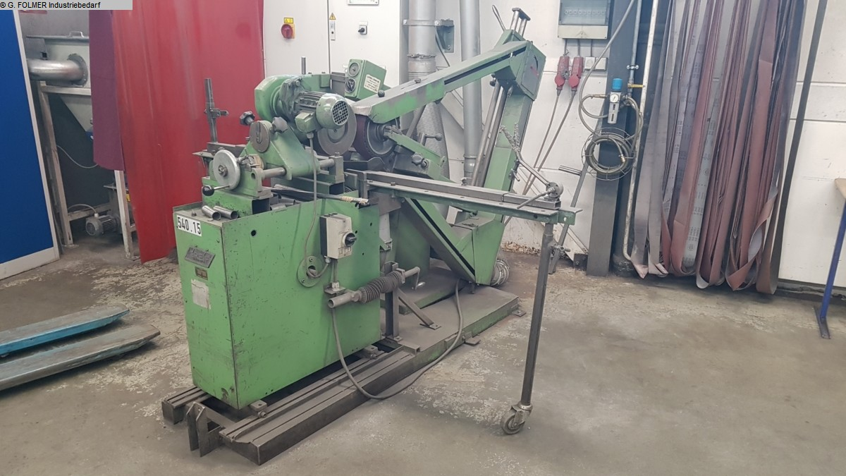used machine Belt grinder LÖSER Loeser KS 350 / GREIF RSPG 3
