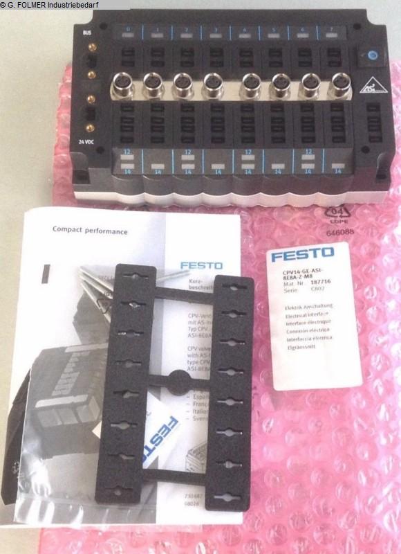 artículos neumáticos usados FESTO CPV14-GE-ASI-8E8A-Z-M8