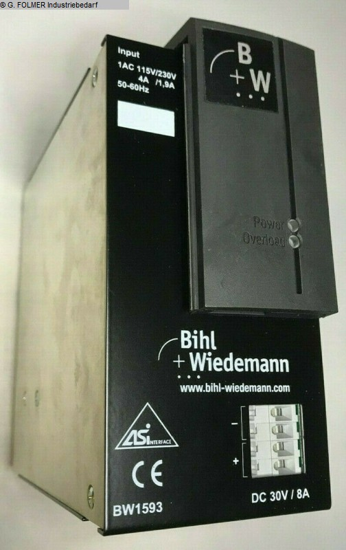 used Electronics / Drive technology Electronics / Drive technology Bihl+WIEDEMANN BW1593