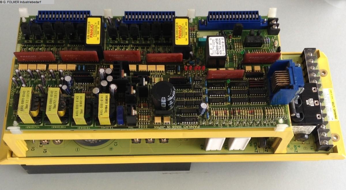 kullanılmış Elektronik / Tahrik teknolojisi Elektronik / Tahrik teknolojisi FANUC Amplifikatör A06B-6058-H225