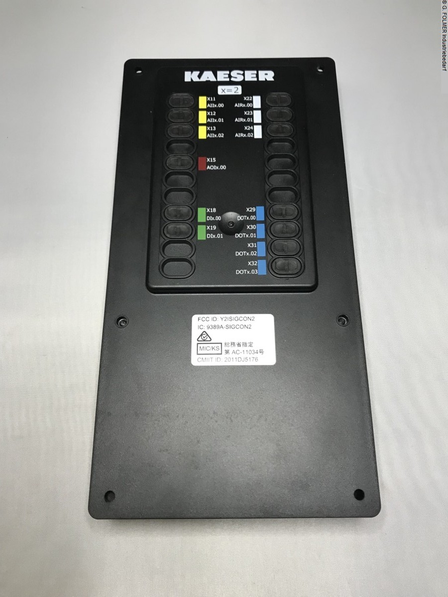 used Electronics / Drive technology Electronics / Drive technology KAESER KOMPRESSOREN SE Input Output Module 2