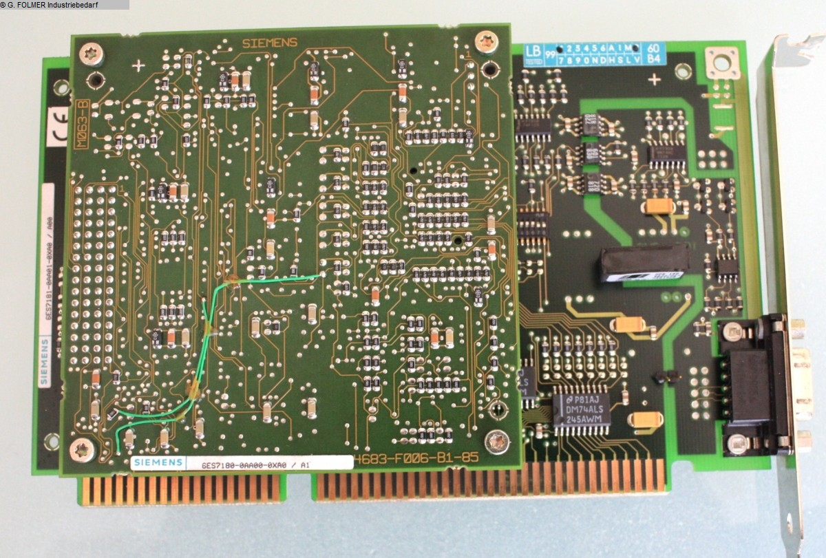 used Electronics / Drive technology Electronics / Drive technology SIEMENS 6ES7180-0AA00-0XA0