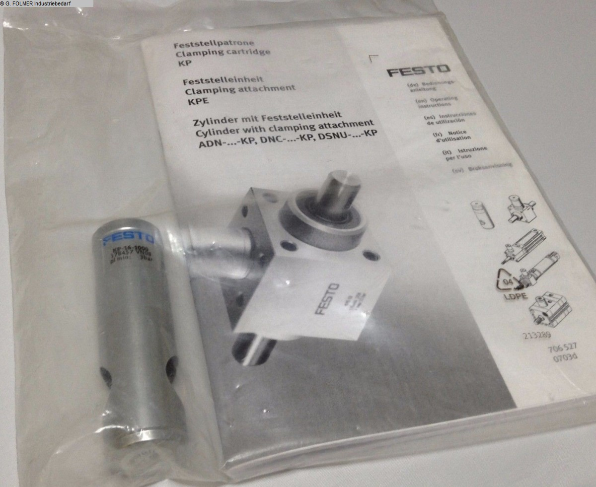 gebrauchte Fensterfertigung: Kunststoff Pneumatikartikel FESTO KP-16-1000