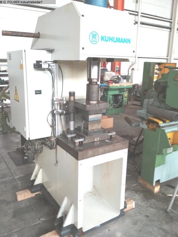 gebrauchte  Prägepresse - Einständer - hydraulisch KUHLMANN 0656