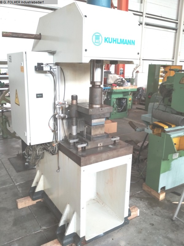 used  Coining Press - Single Column - Hydr. KUHLMANN 0656