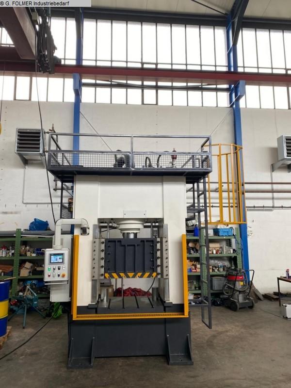 used  Double Column Press - Hydraulic Folmer DCC