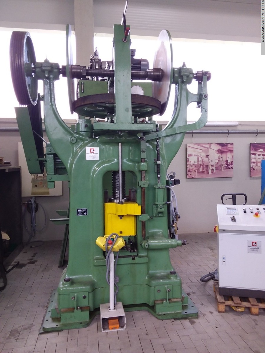 used  Friction Screw Press WOLFF, SOLINGEN RSP 160