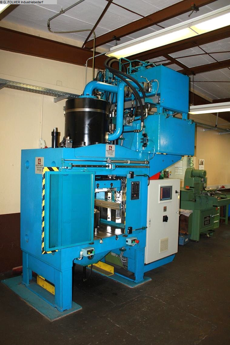 used Presses Hydraulic Press WOLFF, SOLINGEN HEP 4000