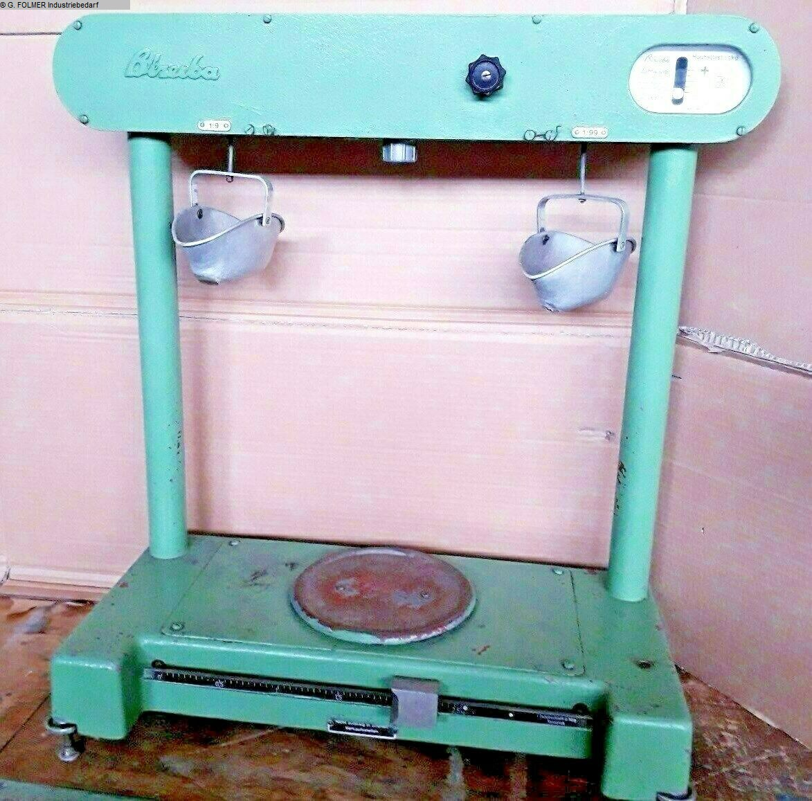 used Other attachments Balance BIZERBA 452550