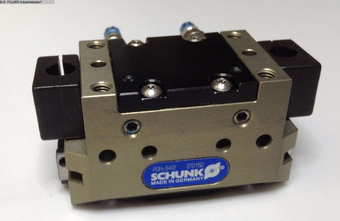 used Window production: PVC Pneumatic articles SCHUNK PGN-64/2
