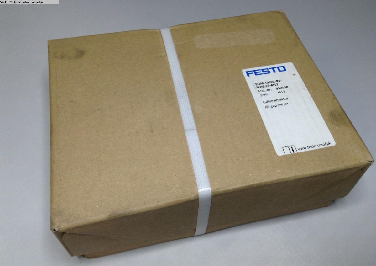 gebrauchte Fensterfertigung: Kunststoff Pneumatikartikel FESTO SOPA-CM1H-R1-WQ6-2P-M12