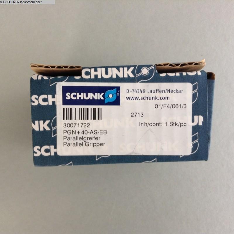 gebrauchte Fensterfertigung: Kunststoff Pneumatikartikel Schunk PGN+40-AS-EB