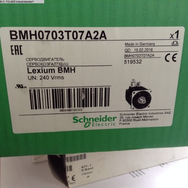 used Electronics / Drive technology SCHNEIDER BMH0703T07A2A