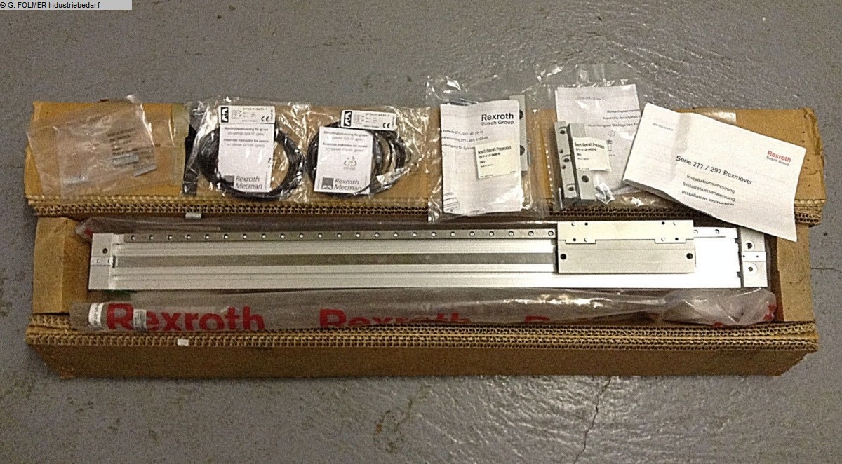 used Window production: PVC Pneumatic articles BOSCH REXROTH 277-904-387-0