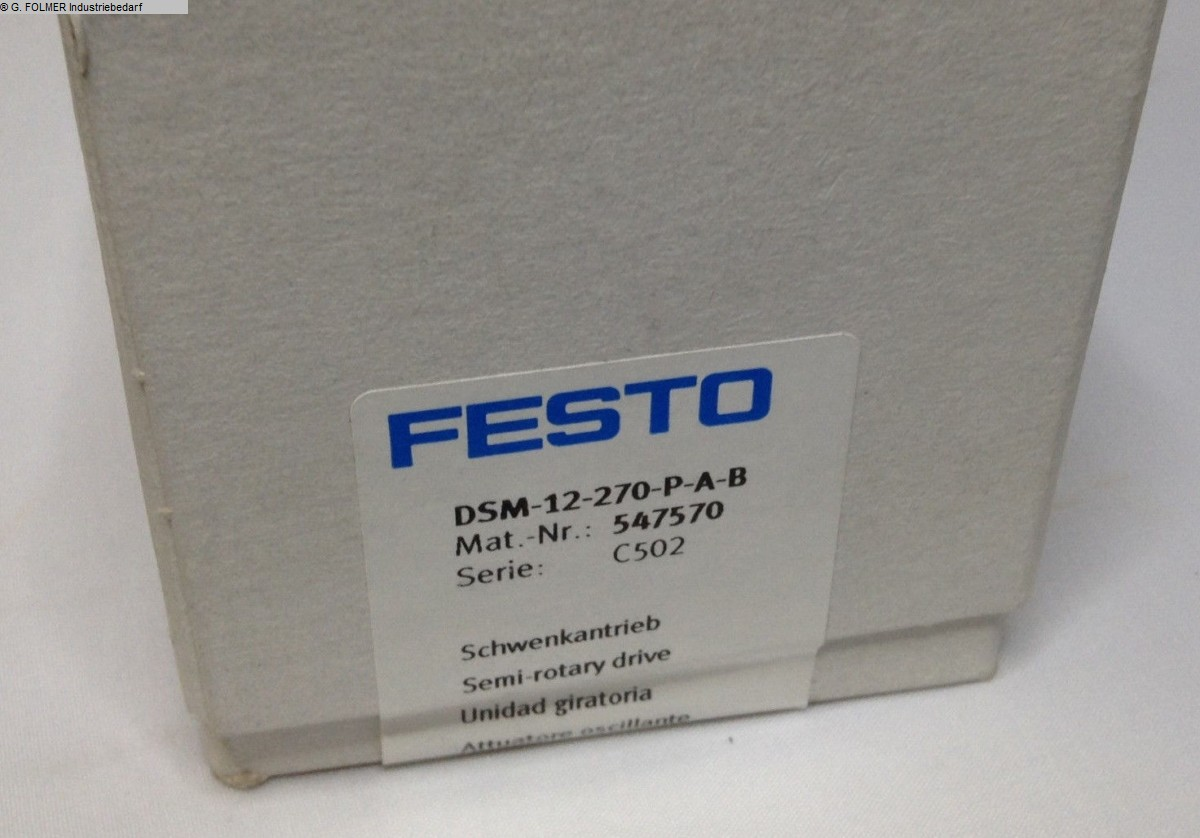 used Window production: PVC Pneumatic articles FESTO DSM-12-270-P-A-B
