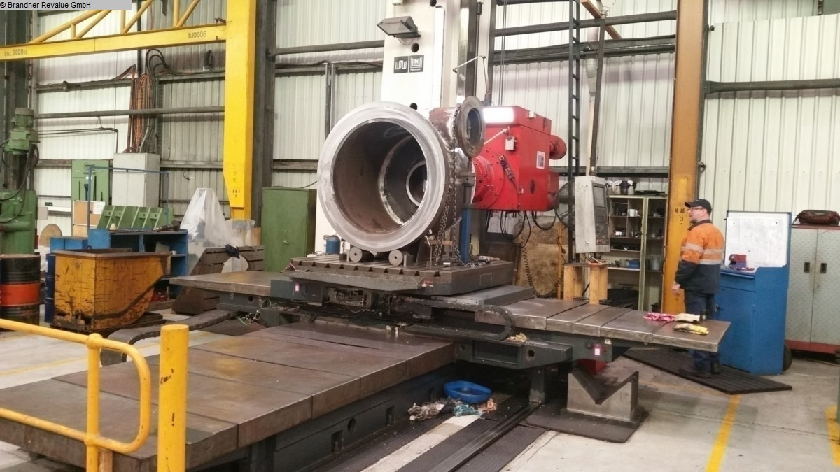 used  Floor Type Boring and Milling M/C - Hor. UNION NC 130
