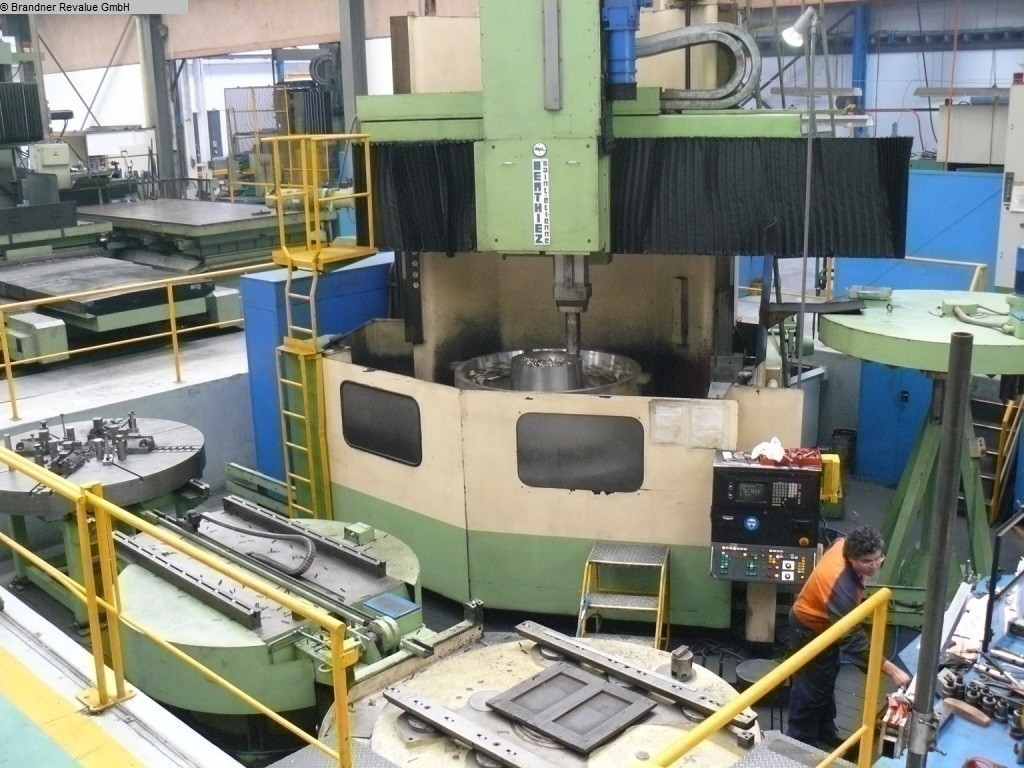 used  Vertical Turret Lathe - Double Column BERTHIEZ LVM 200