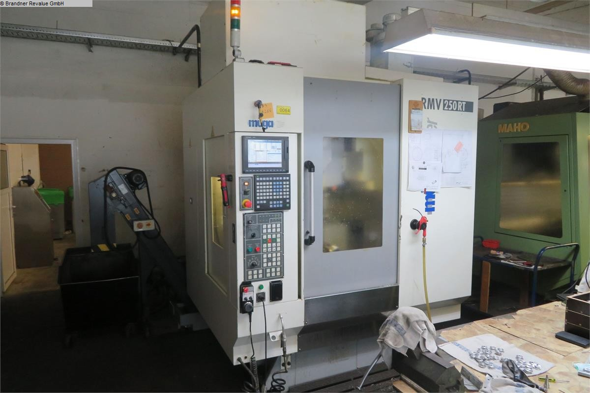 used  milling machining centers - vertical Muega RMV 250RT
