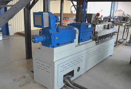 used Extrusion Twin-Screw extruder Plastico ADS-35/40
