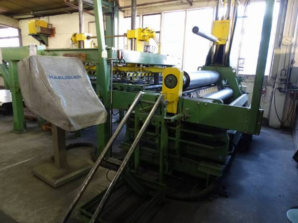 used Plate Bending Machine -  4 Rolls 5413-402 4RM-hy VRM-hy-1 2000x5