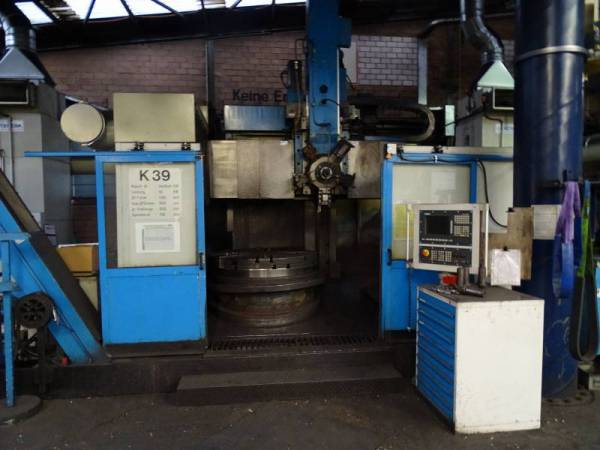 used Lathes Vertical Turret Lathe - Single Column Schiess-Sedin Vertiturn V2R