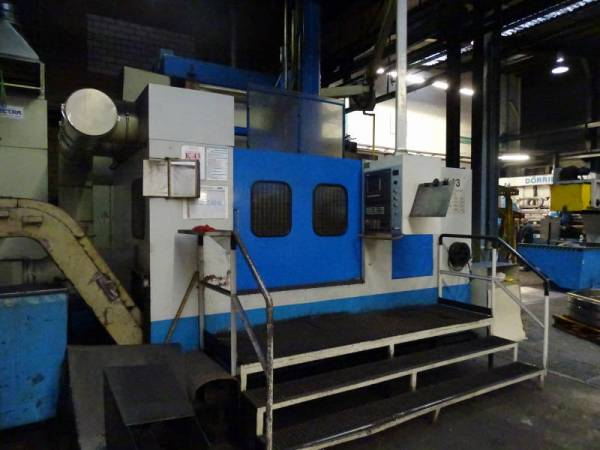 used  Vertical Turret Lathe - Single Column Carnaghi TMC 14/CNC