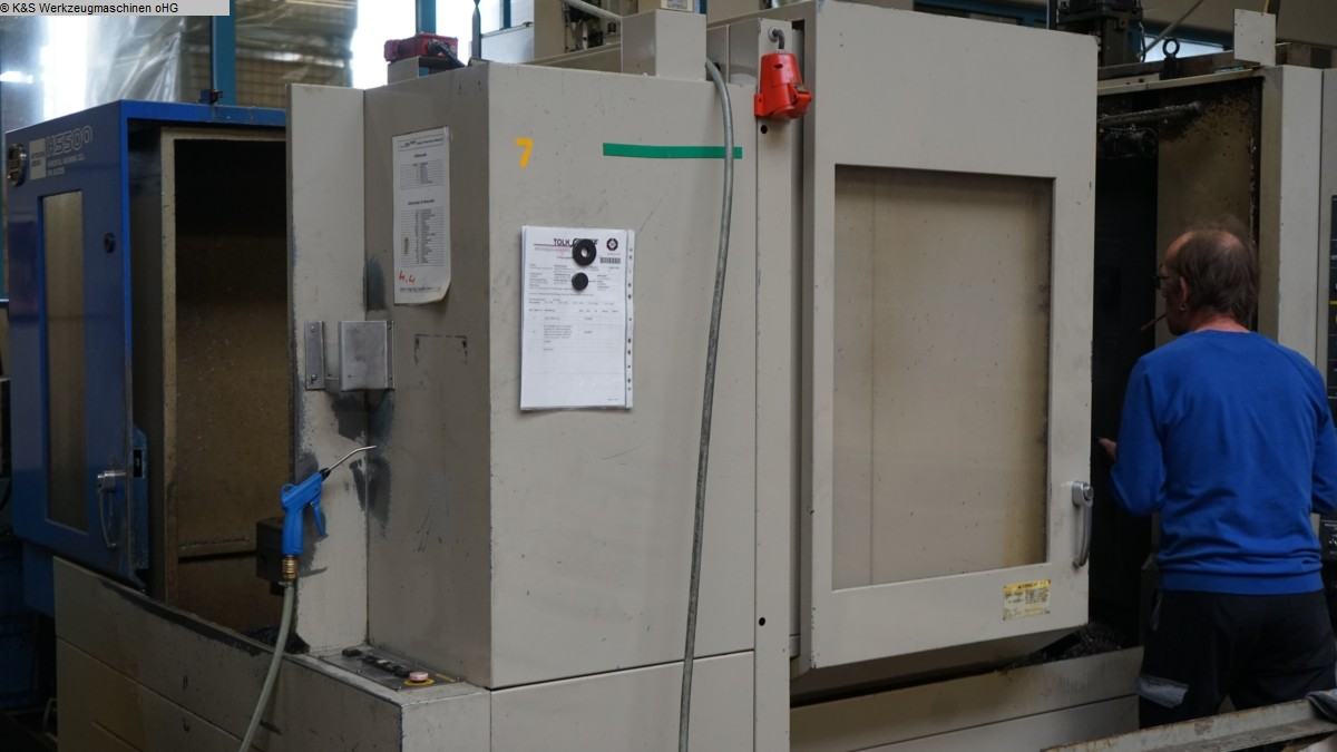 used  milling machining centers - horizontal HITACHI SEIKI HBAZ HS500