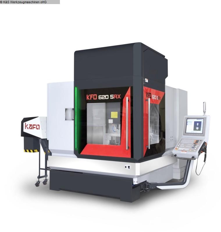 gebrauchte Metallbearbeitungsmaschinen Bearbeitungszentrum  5 Achs KAFO (EMO Messemaschine) KFO-620-5AX