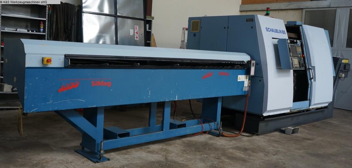 gebrauchte Metallbearbeitungsmaschinen CNC Dreh- und Fräszentrum SCHAUBLIN 65TM-6