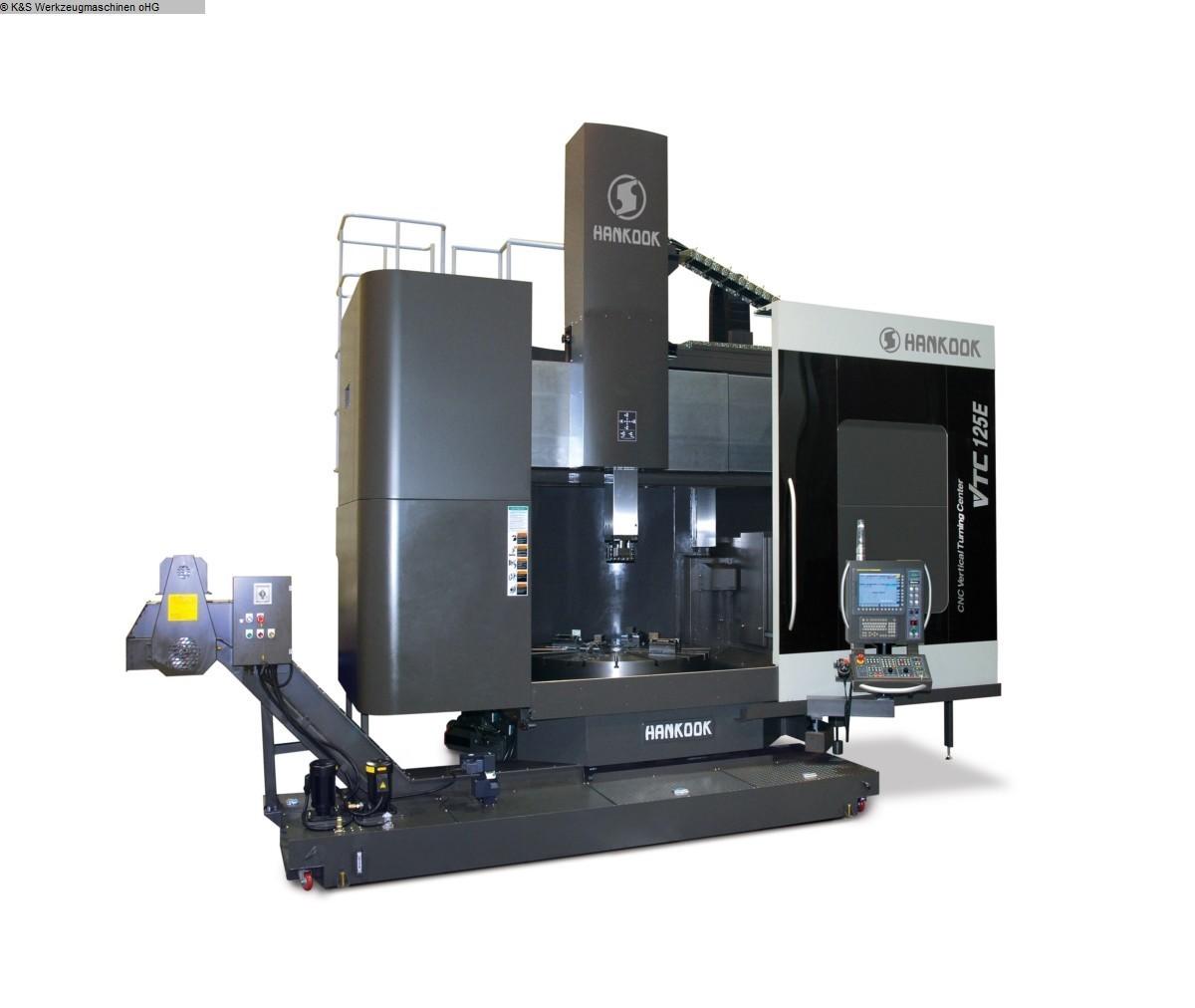gebrauchte Metallbearbeitungsmaschinen Karusselldrehmaschine - Einständer HANKOOK VTC-125E