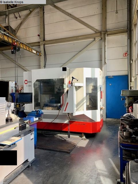 used  milling machining centers - universal HERMLE U 1000 A