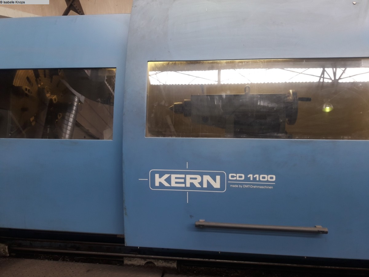 used Lathes Lathe -  cycle-controlled DMT KERN CD 1100