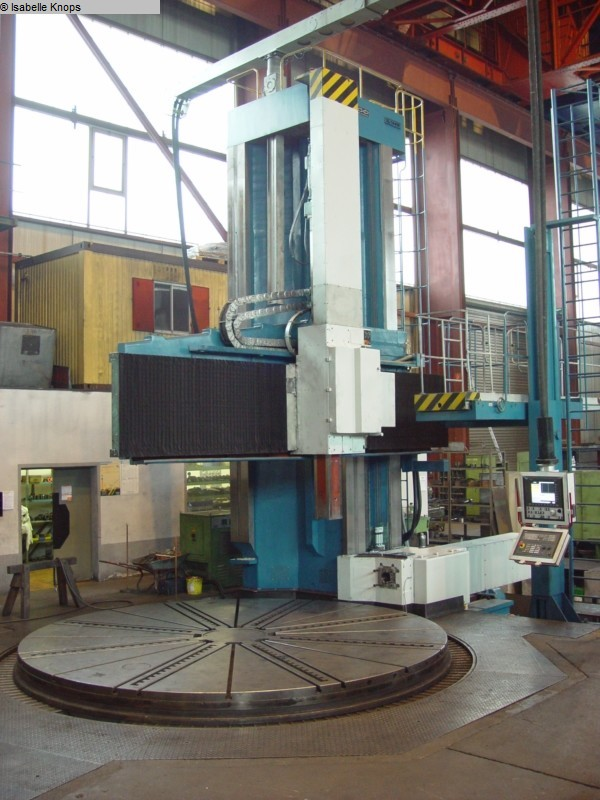 used Vertical Turret Lathe - Single Column CKD-BLANSKO SKJ 50-100